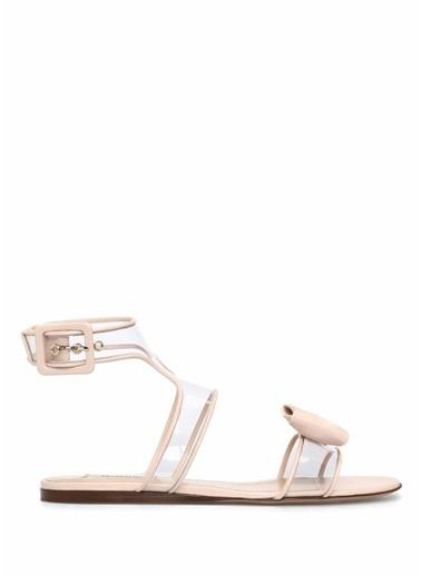 Valentino %100 Deri Sandalet Pembe